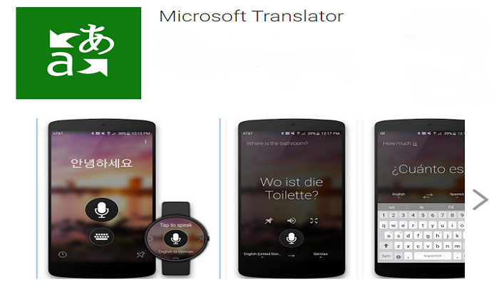 Microsoft Translator App